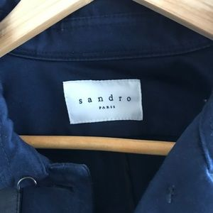 Beautiful Sandro Trenchcoat